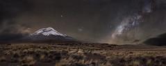 Chimborazo milky way (Mr. CHILI) Tags: outdoor landscape longexposure chimborazo milky way milkyway volcan night star estrella noche ecuador alpinism andinismo