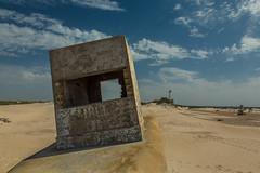Bunker in the dunes. (1939) (Rafa Velazquez) Tags: cadiz bunker spanishcivilwar civilwar chiclana sanfernando