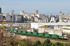 Coruña San Diego (REGFA251013) Tags: coruña galicia adif 311101 tren comboio mercancias train renfe