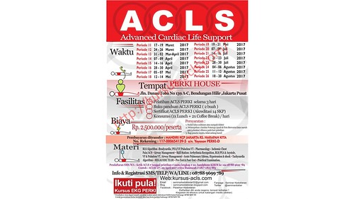 08788-9699-789 | Kursus ACLS PERKI Inhouse Training | Buku dan Pretest Kursus ACLS PERKI | Sertifikat Kursus ACLS PERKI