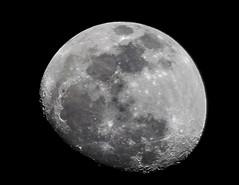 Moon Photo Handheld (rannicus) Tags: moon monochrome nightphotography nightphoto lunar