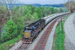 Southern Tier Salt (douglilly) Tags: delawarehudson gp392 rathbone