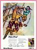 Kellogg's  Puffa Puffa Rice  Ship Models  1971 (StarRunn) Tags: kelloggs cereal premium ships models kits 1970s advertisment pirates