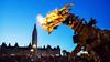 Long Ma strolls by Parliament Hill (Derek Mellon) Tags: longma ottawa parliamenthill dragon lamachine horsedragon canada150