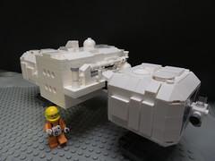 Space 1999 next step (ledamu12) Tags: space 1999 moc eagle lego adler transporter mondbasis alpha1
