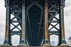 Under the Manhattan Bridge (thedailyjaw) Tags: nyc newyork ny streetphotography d610 nikon city bustle manhattanbridge bridge porn bridgeporn architecture lines arches symmetry perspective rust aged classic steel