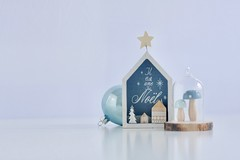 Juego #3 Ganas de Navidad... (AriCatalán) Tags: adorno navidad ornaments decoration christmas tabletop stilllife