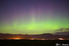 171107-85 Aurore boréale (clamato39) Tags: auroreboréale ciel sky colors vert night nuit îledorléans provincedequébec québec canada phénomène