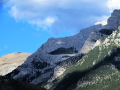 View from town (thomasgorman1) Tags: mountains alberta canada view rockies canadian canon scenic cloudy clouds canmore