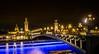 Le pont Alexandre III en bleu. (Bouhsina Photography) Tags: lumière bouhsina bouhsinaphotography paris france 2017 bleu traine gold architecture longue exposition seine