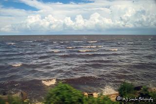 Amtrak's City of New Orleans | Lake Pontchartrain