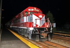 A New Face (BravoDelta1999) Tags: wsor railroad canadianpacific cp rail milwaukeeroad milw railway cmsubdivision lakecookroad northbrook illinois emd sd40m2 sd45 4223 wamx t004x grain train
