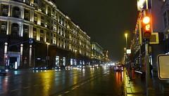 Rainy evening, Moscow (rustamsad) Tags: moscow rain autumn lumix leica lx5