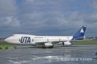 B747-2D3B(SCD) F-GFUK UTA AEROMARITIME
