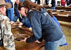 Gold Panning Tour (thomasgorman1) Tags: pan panning gold history fairbanks alaska people instructor instruction woman man tourism canon