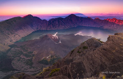mt Rinjani (sandilesmana28) Tags: mount rinjani indonesia vulcano segara anak lake nature water sunrise