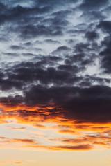 Burning Sky 2 (Kovah.de) Tags: clouds cloud cloudscape sun sunset sunshine evening berlin germany city citylife street streetlife skyline cityscape