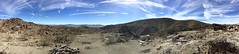 Pinto Mountains looking out to Pinto Basin. (A Wild Western Heart) Tags: goldcrownmine panorama pano mojavedesert thanksgiving 2017 pintobasin jeep adventure sky