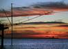 Before Dawn (Robyn Hooz) Tags: nuvole sea clouds mare paranco trabucco pesca fish horizon orizzonte blue blu sottomarina chioggia venice
