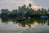 Local commuters at Alleppey backwaters, Kerala, India (sandeepachetan.com) Tags: alleppey alappuzha india