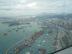 IMG_0554 (Sweet One) Tags: icc sky100 observationdeck view city skyline buildings towers hongkong harbour