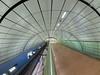 Helmut Schmidt Flughafen 02 (Torsten schlüter) Tags: deutschland hamburg helmutschmidtflughafen tunnel kunstlicht olympus 8mm 2017 linien
