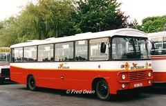 Bus Eireann BM72 (78D328). (Fred Dean Jnr) Tags: buseireann bedford marshall bm72 78d328 capwell cork august1998 capwelldepotcork buseireanncapwelldepot schoolbus busscoile