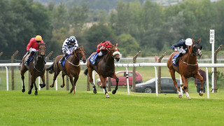 Danny Tudhope and Short Work hit the front