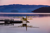 Cutty Sunrise (Russell-Davies) Tags: loch lomond lochlomond seaplane cessna scotland uk cameronhouse sunrise water aviation reflections highlands