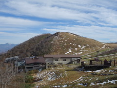 201710301 Jōshin'etsu-kōgen National Park (taigatrommelchen) Tags: 20171043 japan minakami clouds mountains snow aerialtramway building national park explore