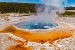 Crested Pool (mghornak) Tags: crestedpool yellowstonenationalpark hotspring thermalpool spring june2017 landscape canon canoneos5dmarkii water color