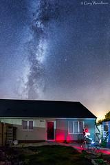 Backyard Astronomy - Milky Way, Embleton, Northumberland (Gary Woodburn) Tags: astronomy milky way backyard back garden telescope night sky stars starry canon 6d samyang 24mm f14