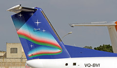 VQ-BVI LMML 22-10-2017 (Burmarrad (Mark) Camenzuli) Tags: airline yakutia airlines aircraft bombardier dash 8314 registration vqbvi cn 381 lmml 22102017