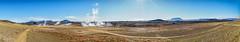 Endless Desert (*Capture the Moment*) Tags: 2017 clouds farbdominanz fog fotowalk iceland island namaskard nebel pano panoshot panorama panoramablick panoramaview rauch schlammquellen schwefel smoke sonya7m2 sonya7mii sonya7mark2 sonya7ii sonyfe2470mmf4zaoss sonyilce7m2 sulphur wetter wolken yellow gelb mudfountain mudspring mudwell