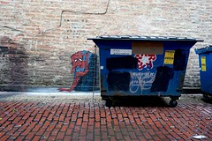 Spiderman Retired (drew*in*chicago) Tags: chicago street art artist paint painter 2017 spray colors mural