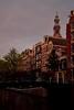Prinsengracht at dusk (La Mon1) Tags: westerkerk prinsengracht amsterdam