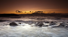 After Sunset Glow (PeterYoung1.) Tags: atmospheric beautiful colours clouds glow highlights landscape nature ocean peteryoung1 orange rocks scenic scotland seascape sunset sea twilight uk water