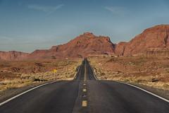 Highway 89A (jbarc in BC) Tags: highway highway89 road pavement arizona north mountains vanishingpoint centreline undulating rock navajo undulations