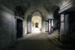 From the darkness (Michal Seidl) Tags: abandoned abbandonato villa house coridor opuštěná vila italy urbex hdr canon architecture