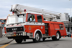 IN 9559 (ambodavenz) Tags: hydraulicplatform hydraulic fireengine fireappliance newzealandfireservice newzealand southcanterbury timarufirebrigade simonsnorkel erf 84pfs wormald snorkel aerial fire truck timaru