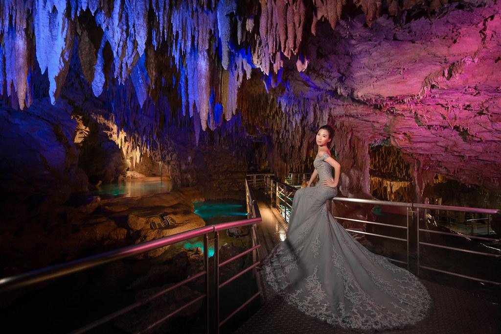 沖繩婚紗 玉泉洞婚紗拍攝 禮服: Toris Wedding