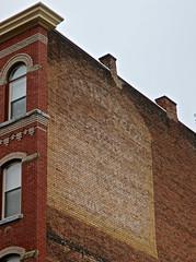Ghost Sign, Binghamton, NY (Robby Virus) Tags: binghamton newyork ny upstate faded ghost sign signage ad advertisement brick wall