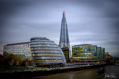 A view of the Shard (mattpacker1978) Tags: shard london glass tower building tall skyscraper bridge thames river canon canon700d canondigital canonphotography canonlife 24105 outside outdoor scenery