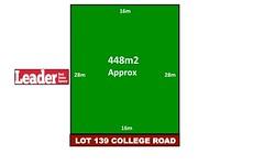 Lot 139, College Road, Doreen VIC