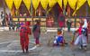 "Bhutan: ""wots the safe word ?"" (adamnsinger) Tags: bhutan bu buddhist festival dancers costumes penis erect cock hard"