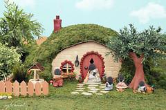 Sylvanian Families - The mole house (Sylvanako) Tags: sylvanian toy garden yard animal nature house fairyhouse miniature clay craft