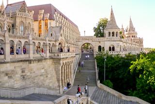 Budapest fisherman bastion view
