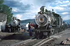 Steam on the Wasatch Mountain Railway (jamesbelmont) Tags: steam heber hebercity utah wasatchmountainrailway baldwin alco tourist passenger drgw riogrande railway