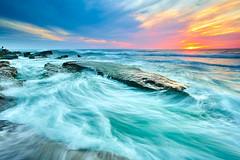 The Rush (tltichy) Tags: lajolla windansea beach california coast coastline ocean pacific reef rocky sandiego sea seascape socal sunset waves