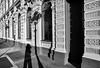 Under The Streetlamp (Ian Sane) Tags: ian sane images underthestreetlamp shadow selfie streetlights usbankladdbush downtown salem oregon black white canon eos 5ds r camera ef1740mm f4l usm lens